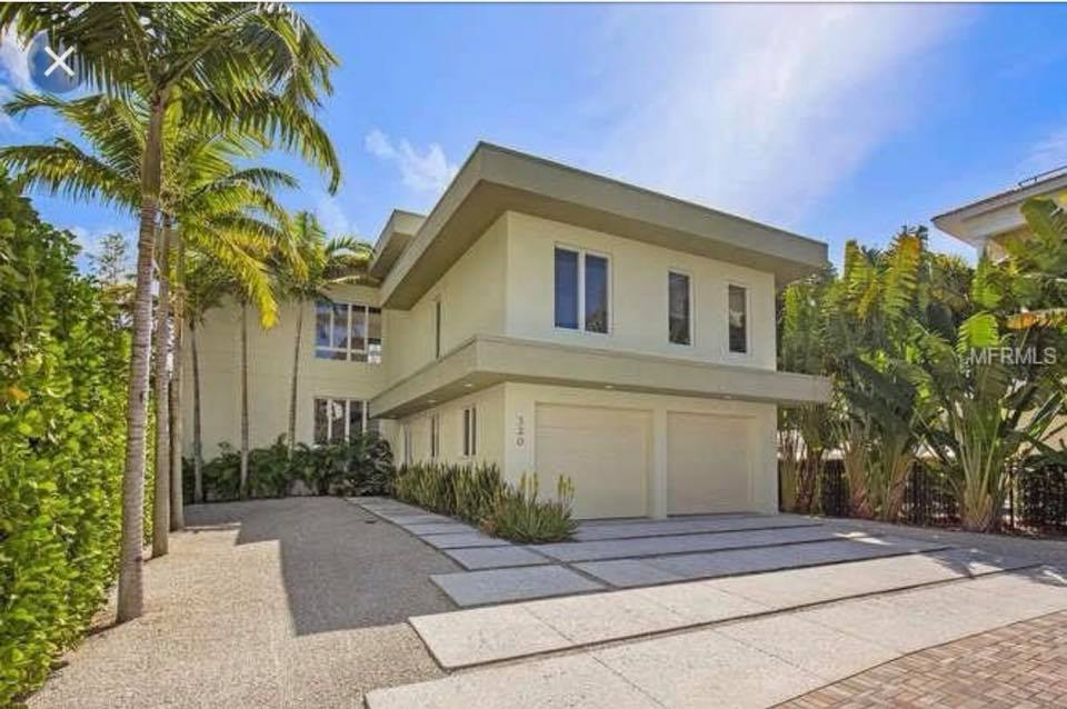 Just Sold:  Stunning Siesta Key contemporary home for $1.8M