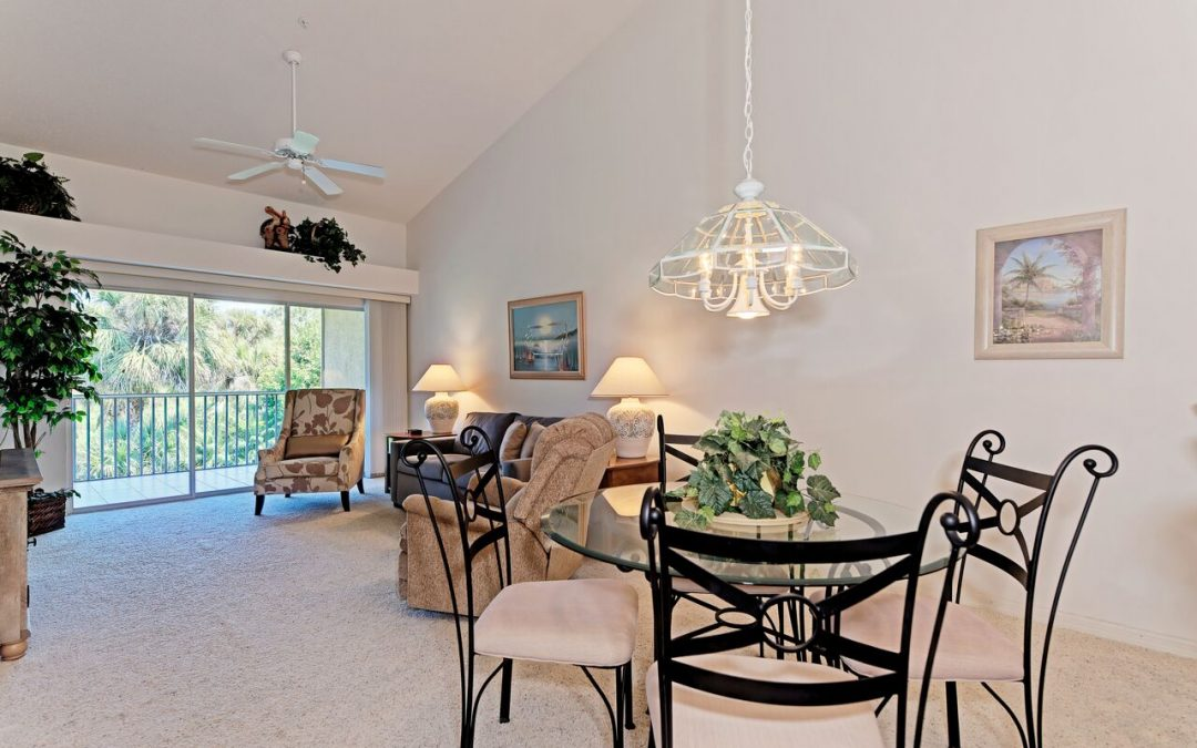 On the market today:  2 bedroom condo in Stoneybrook Golf & Country Club, Sarasota