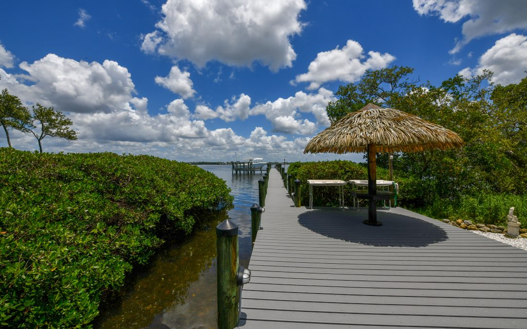 Price Improvement on Custom Englewood Home, with Bay and Beach Access