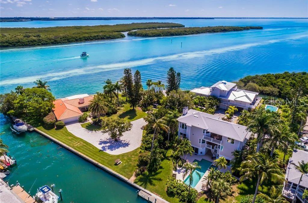SOLD: Custom Three-Level Canalfront Home on Longboat Key for $1.2M
