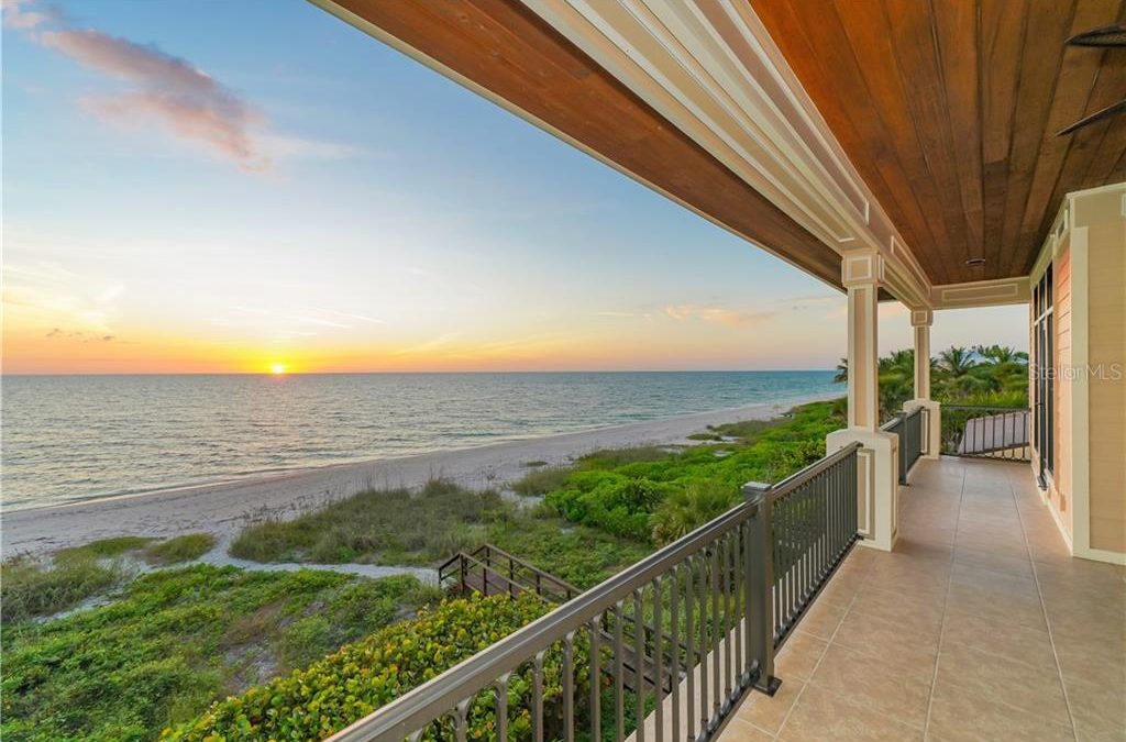 Casey Key Beachfront New Construction Home for $6,450,000
