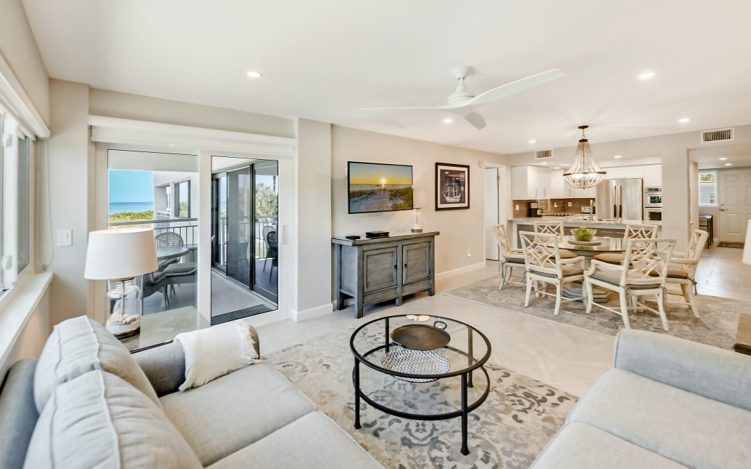 OPEN SATURDAY: SIESTA SANDS FULLY RENOVATED CONDO
