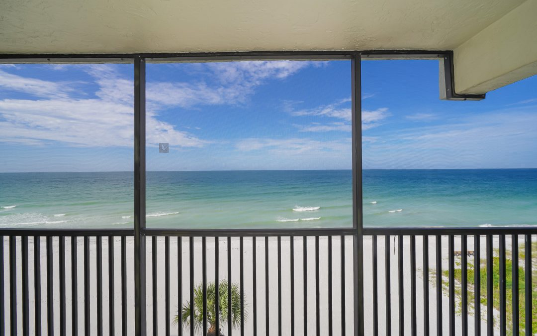 JUST LISTED:Full Gulf View Condo Ready to Renovate $565,000!