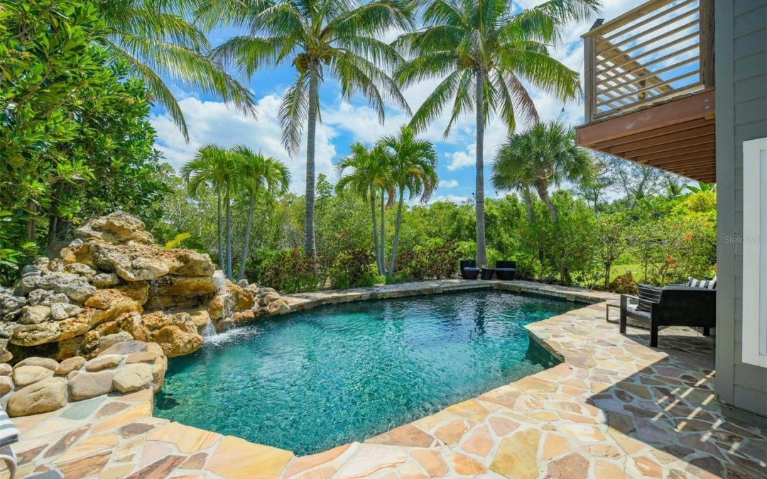 SOLD! Siesta Key Tropical Oasis for $1,545,000