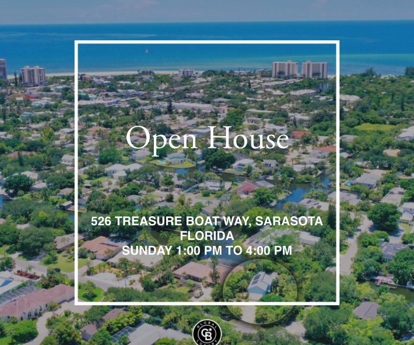 Canalfront Home Open House on Sunday!